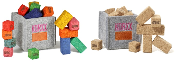 KORXX Brickle - Mini building blocks for to go
