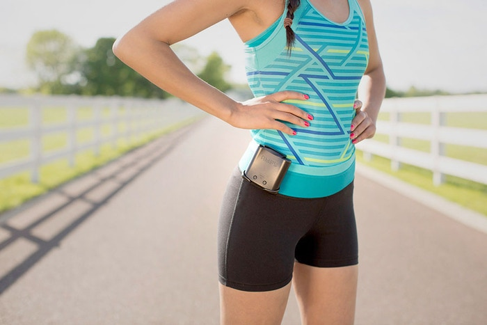 A wearable battery that transforms the energy from your motion into power for your devices