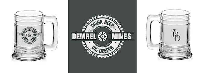 Mining Company Beer Mug