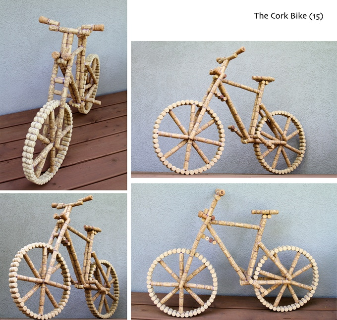 They even got a bike!