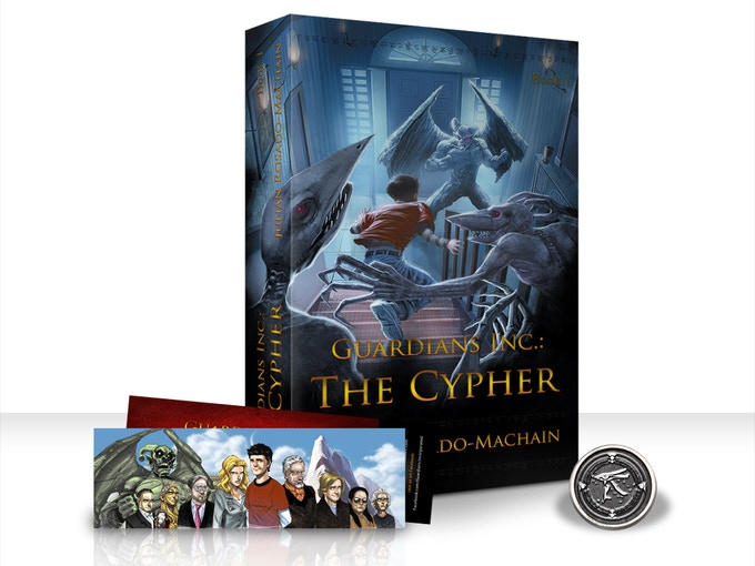 The Cypher in Paperback format! Click to visit My author page in Facebook!