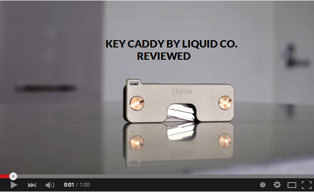 Key Caddy Edc Key Holder And Accessories By Liquid Co By