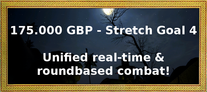 Is real-time combat too hectic for you? Do you prefer round-based battles where you can plan each shot and scimitar blow carefully? Are you a die-hard V.A.T.S. fan? Well, then please help us reaching this stretch goal!