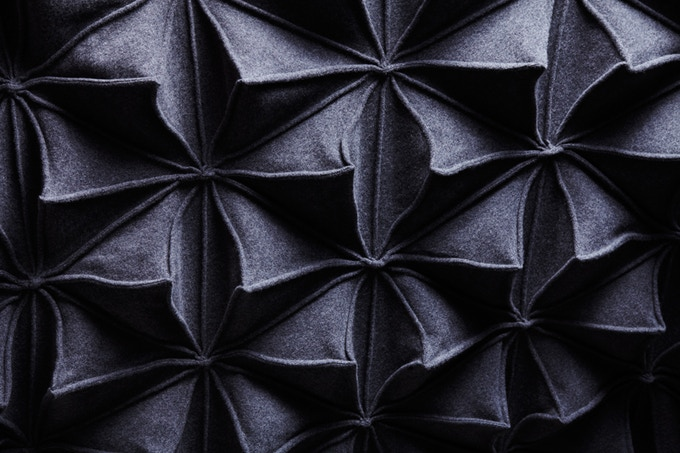 Bloom Blanket Charcoal
