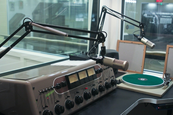 WBCM will broadcast from a studio equipped with historic vintage gear, restored to meet the modern needs of a fully functional radio station
