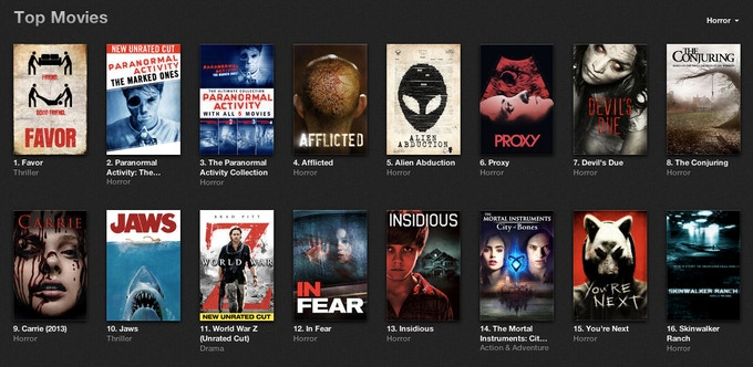 FAVOR hit #1 on the iTunes horror chart and held it for 8 days.