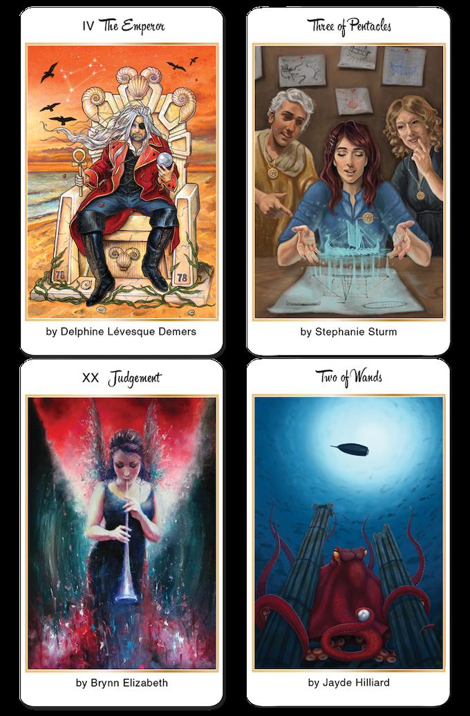 78 Tarot Astral By Kayti Welsh Kickstarter: 78 Tarot Nautical By Kayti Welsh