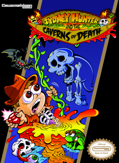 Regular edition NES box art.