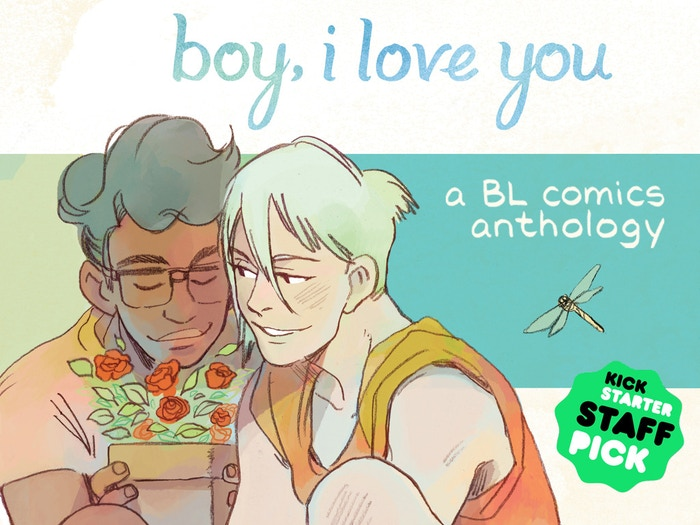A 196-page comics anthology celebrating the boys' love genre through six original stories.