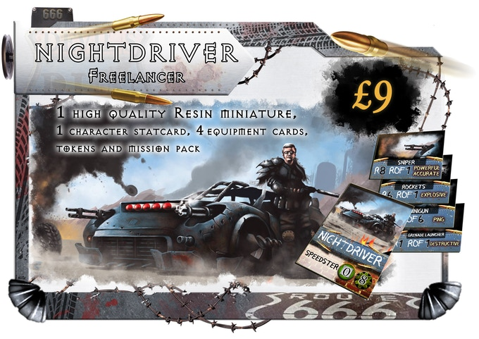 Nightdriver is a man with all the kit, he can often be heard talking to his car as he interacts with its light up display...when you ride the night you need a heads up display right?