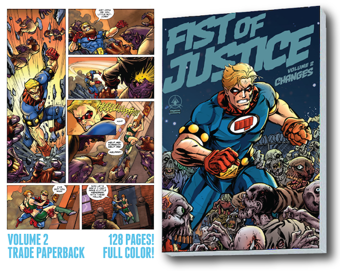128 full color pages of awesome!