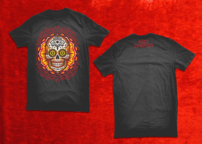 Dia de los muertos second edition playing cards by edgy for On fire brand t shirts