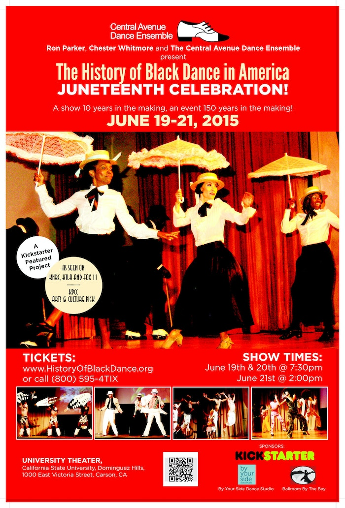 A spectacular multi-media dance concert showcasing the African-American contributions to American social dance. Starting from the late 1800s and progressing to the modern era.
