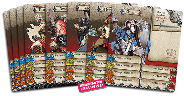 Official Crossover B Sieged Characters In Zombicide