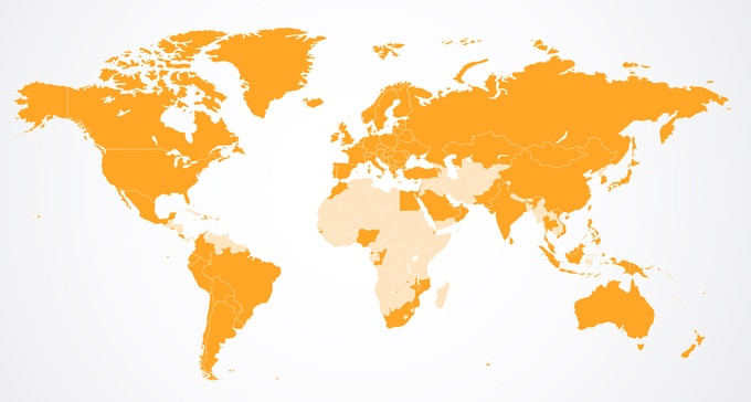 Where inCharge is in the world