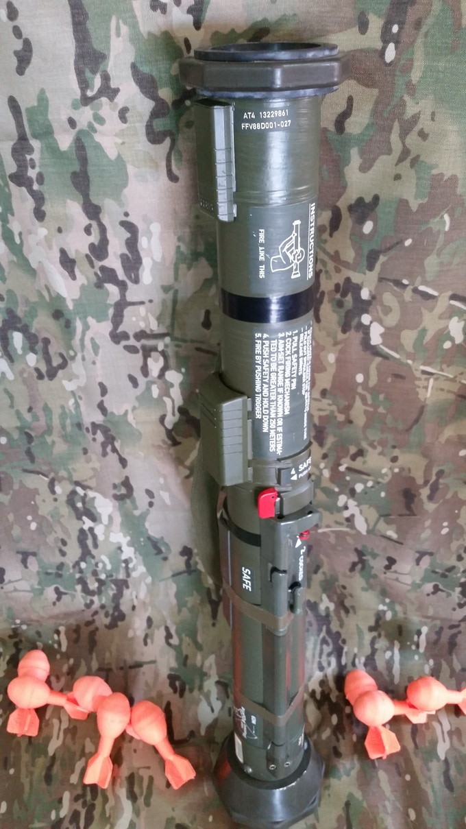 AT4 Shoulder Mounted Launcher
