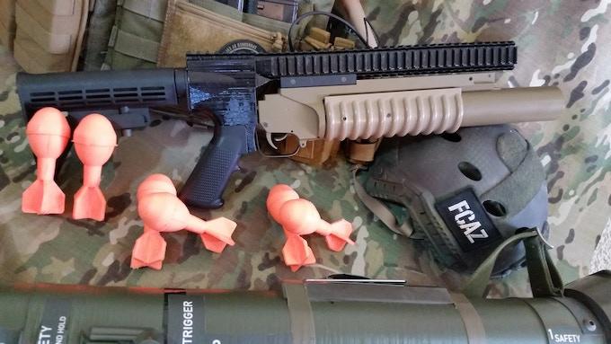 Standalone M203 Style Grenade Launcher
