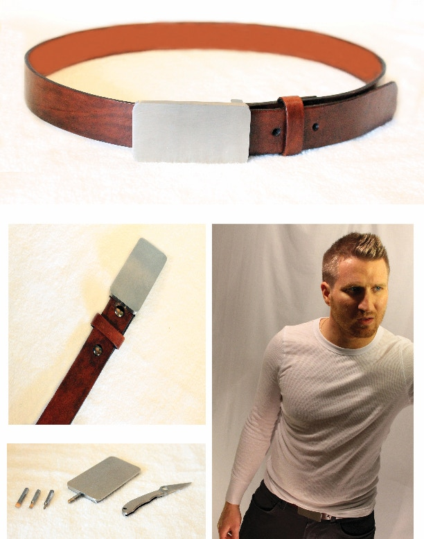 The MBelt: put your belt to work