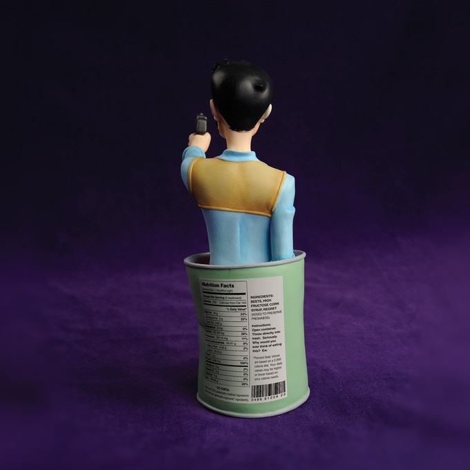 Tony Chu mini-bust back