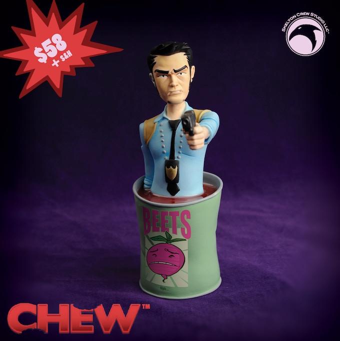 Tony Chu mini-bust
