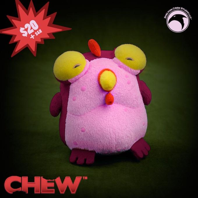 Beet-red, Kickstarter-exclusive Chog!