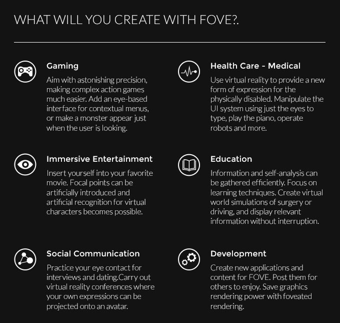 FOVE: The World's First Eye Tracking Virtual Reality Headset