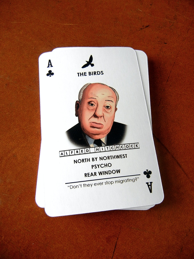 Each card showcases a different film and includes a quote from that film.