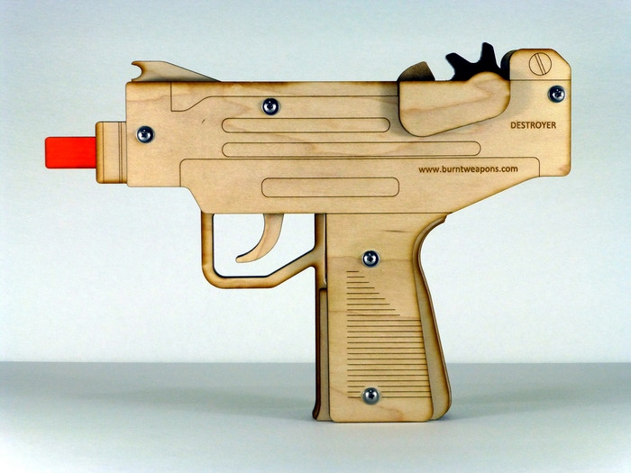 Destroyer full auto machine pistol (prototype)