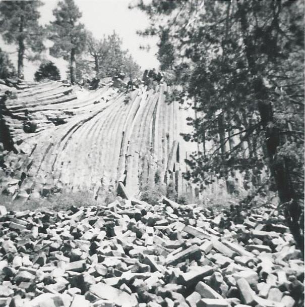 Devils Postpile 1969