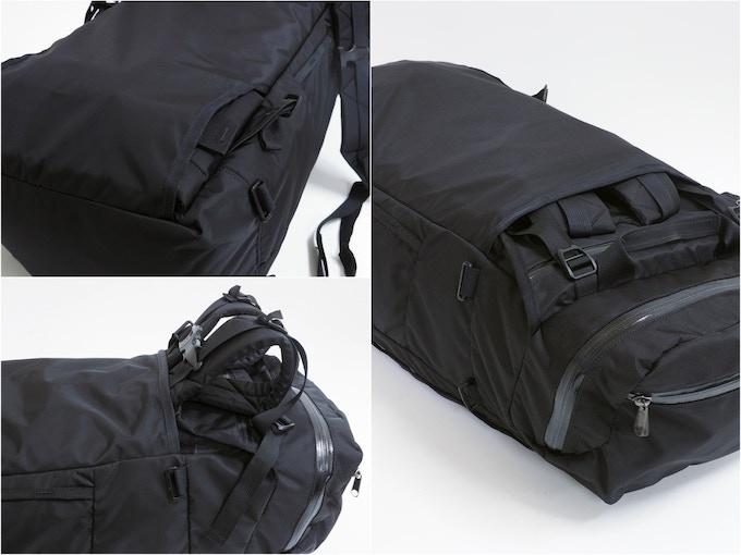 hide-away straps