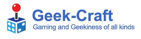 GeekCraft (Coming Soon)