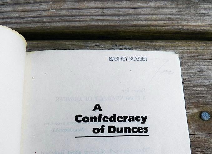Detail of Barney Rosset Stamp