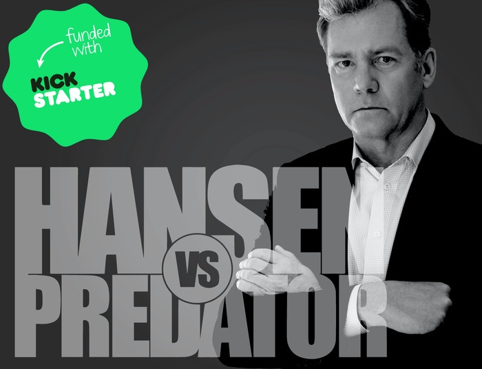 Chris Hansen is undertaking a new investigation into online predators thanks to the Kickstarter community.