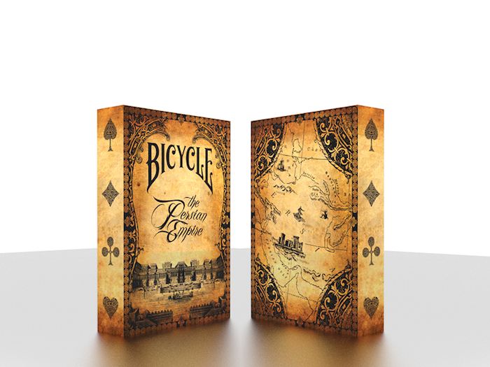 A NEW Bicycle Playing Card Deck designed by Cy Arian. A truly unique deck.