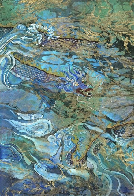 Swirly Water Dragon