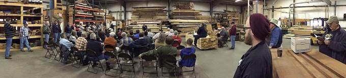 Fredericksburg Area Woodworker's Guild meeting