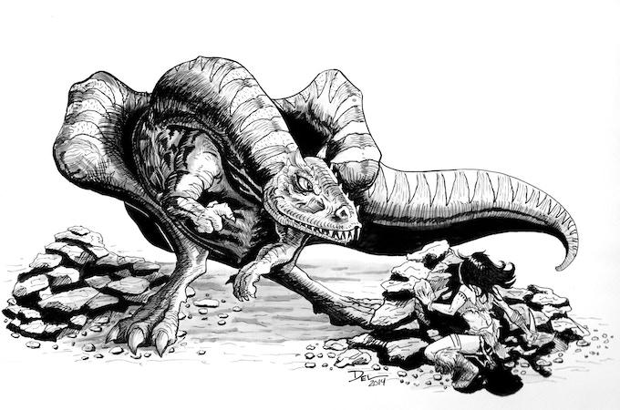 Monster Illustrations by Del Teigeler