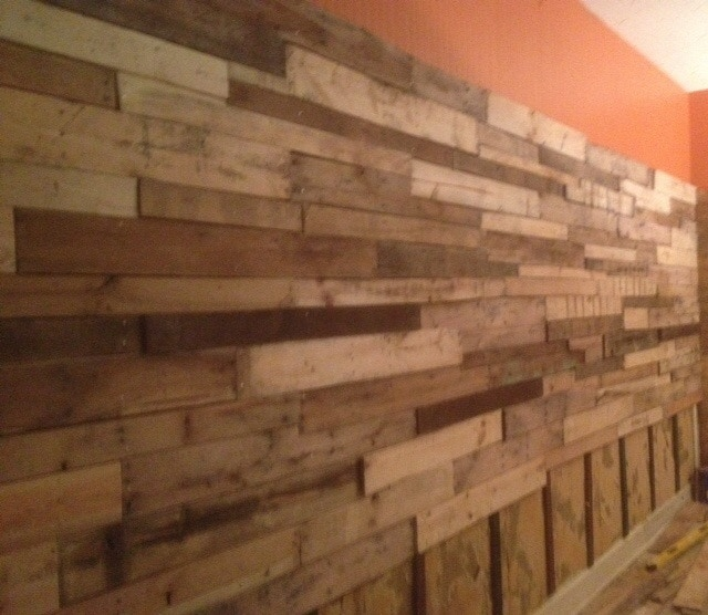 This is our wall of wood. Names will be burned into it, check out rewards #12 & 14