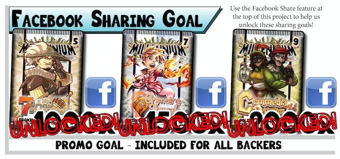 Share Millennium Blades on Facebook!