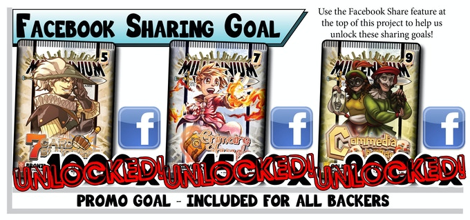 Share Millennium Blades on Facebook!