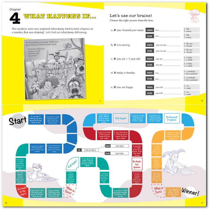 A fun workbook with loads of activities and puzzles