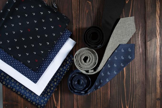 Tie & Pocket Square Options For Our Kickstarter