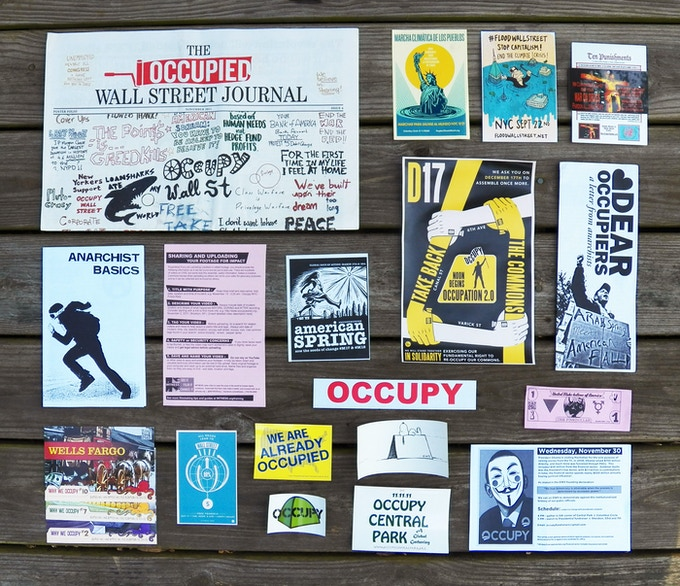 Occupy Wall Street Rarities Pack