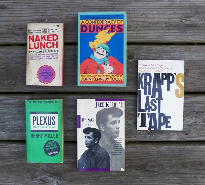Barney Rosset Library First Editions: Grove, Evergreen, Foxrock