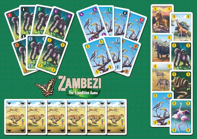 Zambezi Animal Cards