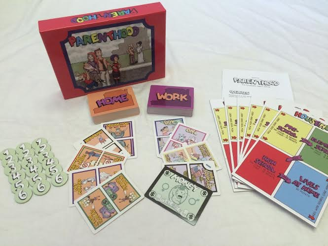 INTERESTED IN LEARNING MORE ABOUT THIS GAME OR ORDERING A COPY? VISIT https://pastgo.net/products-parenthood/