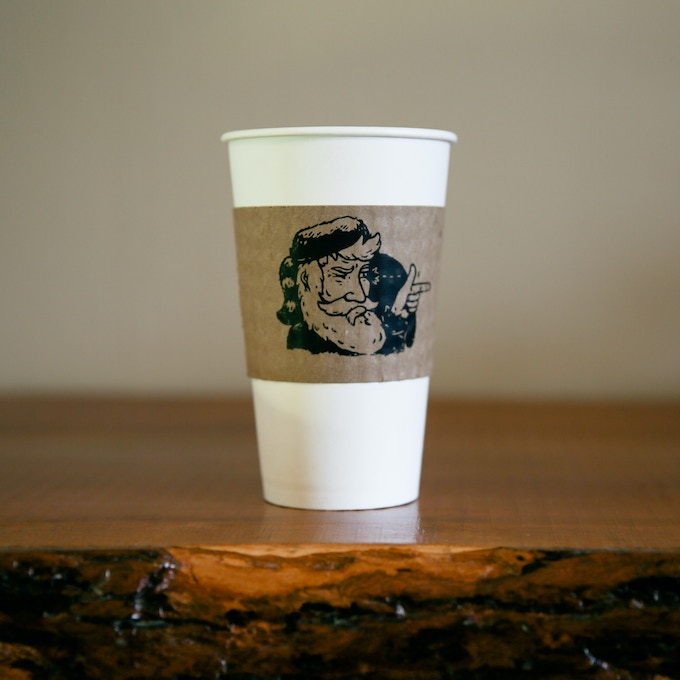 Sure Shot Coffee- Cup with Sleeve