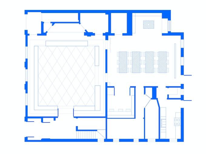ACRE Exhibition & Flex Space Plans by A Squared.