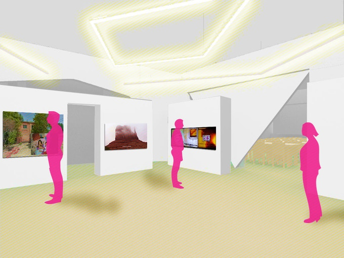 Gallery rendering by A Squared.