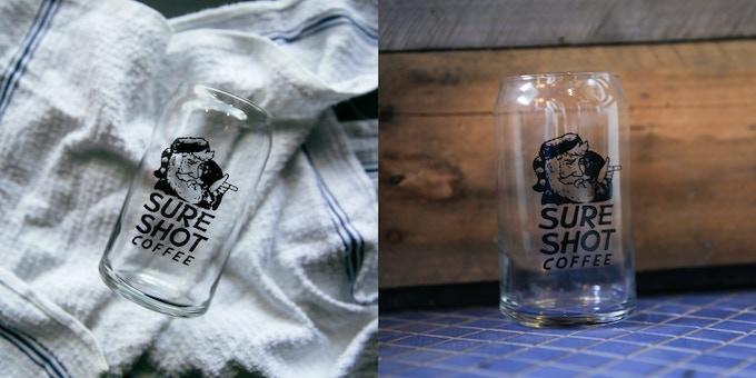 Sure Shot Coffee- Cold Brew Glasses